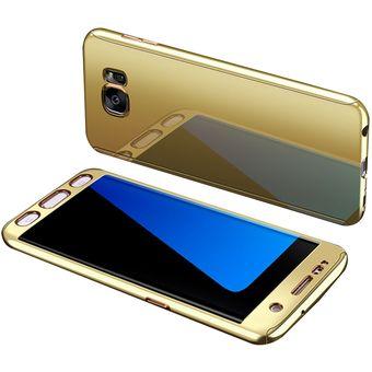 d2998aac73c Compra Funda De Metálico Espejo Para Samsung Galaxy S7 Edge-Oro ...