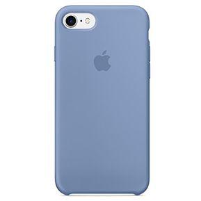 3b59a3a57cc Carcasa Funda de Silicona para iPhone 7 / 8 - Color Azul Denim