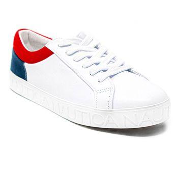 4dce9a4 tenis zapatos de mujer nautica tenis blanco sku