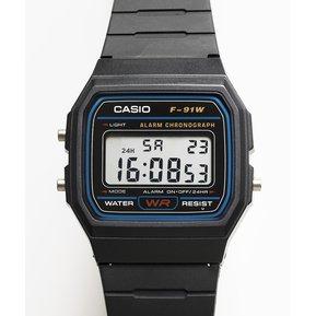 9d85ed547da8 Reloj Deportivo Unisex Casio F91-Negro