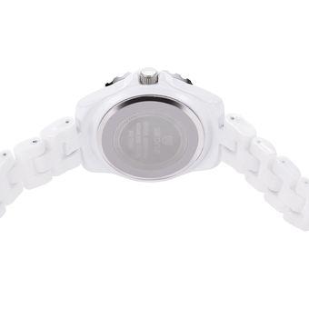 3C Skone 7240 Mujer Reloj De Cuarzo Artificial Diamante Dial Cristal Bisel  Aleación De La Banda Reloj De Mujer 42ce55be125c