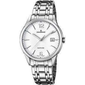 15e18d1f8cb6 Reloj C4614 2 Plateado Candino Hombre Classic Timeless Candino