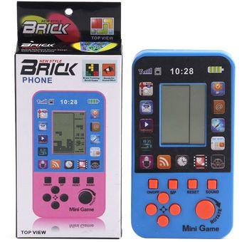 Compra Consola De Juegos Tetris Juegos Integrados De 23 Naranja