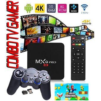 Compra Tv Box Gamer Mxq Pro 7 1 Tv App Premium Gratis Control Video