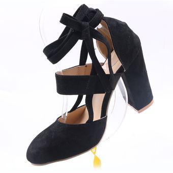 eaed0c3d Compra Negro Sexy Gladiador Tacones Altos 8CM Zapatos De Vestir De ...