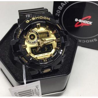 e5240cd5b820 Compra Reloj Casio G-Shock GA-710GB-1A Analógico Y Digital Hombre ...