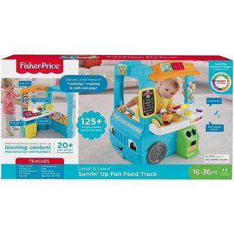 42bd91926 Compra Fisher Price Food Truck Ríe Y Aprende Cocina Carro online ...
