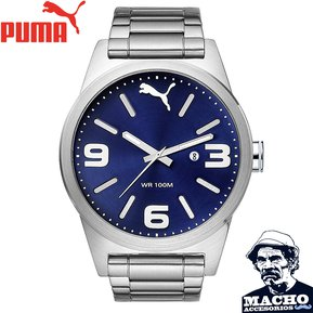 Reloj Puma Instinct PU104091004 Acero Inoxidable Fondo Azul Metalizado 2ced5474dfc2