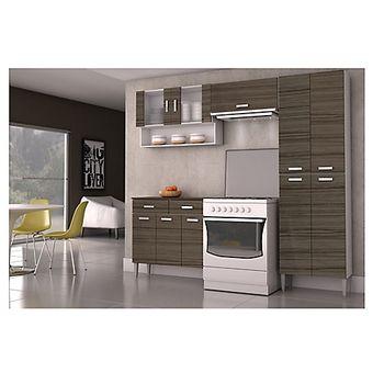Kit Mueble Cocina 220X201X36 Cm Quartz - Parana