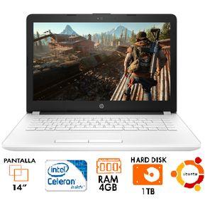 f4ecc4d5b784 Computador Portatil HP 14-bs006la Celeron N3060 4GB 1TB 14