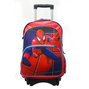 544155be9 Maleta Ruedas XL Spiderman 2d Marvel escolar viaje manijas