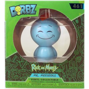Figura Coleccionable Funko Dorbz Rick And Morty Mr Meeseeks fae9f3bf846c9