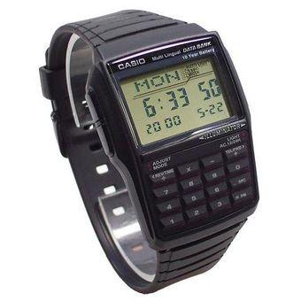cd3dc6111266 Reloj Casio Hombre Dbc 32 Telememo Calculador Iluminator- Negro