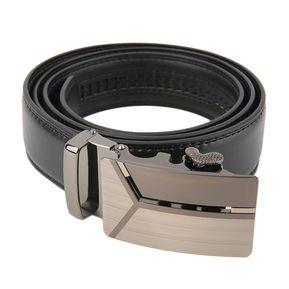 EY Cinturones De Hebilla De Cinturon De Cuero Genuino Clasico Automatico  Para Hombre Correa De La a26efe646894