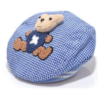 Compra Gorras Tipo Boinas Para Bebes - Niño - Diseño Osito online ... 449a9cebcbe