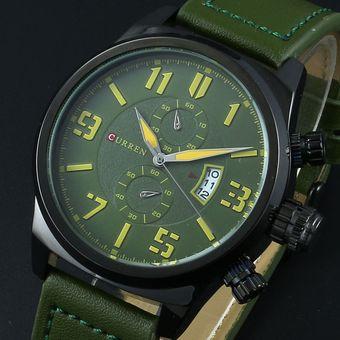 8e5ead896c5d Compra Reloj Con Esfera Grande CURREN   8200 Para Hombre-Verde ...