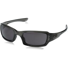 8932261d46 Lentes Oakley Fives Squared Grey Smoke / Warm Grey OO9238-05