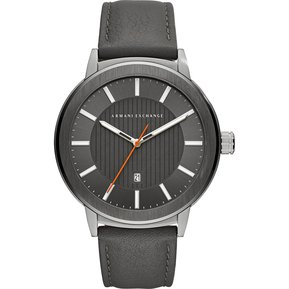 a2ab00638111 Armani Exchange AX1462 Men s Quartz Stainless Steel And Leather Casual  Watch