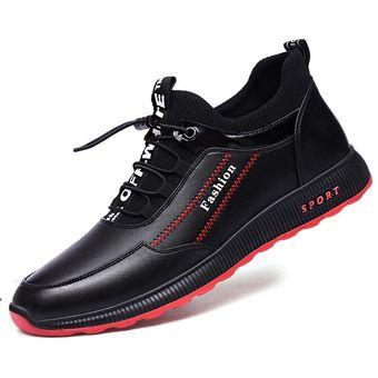 hombre Zapatos para de zapatos deportivos casuales cuero de moda uOXTPkZi