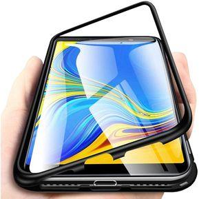 d17e84e74d9 Funda Case Para Samsung Galaxy A50 Marco de metal magnético vidrio templado
