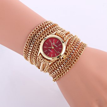 fb972d18b750 Compra Reloj Pulsera Dama Analogo Dolor Rojo R65-1 online