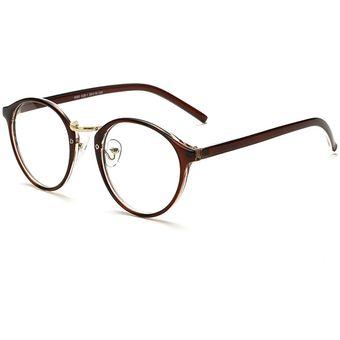 2bdab88c6c Agotado Vintage ópticos Gafas Redondo Los Anteojos Grande Marco Uni Estudiante  Miopía -Té