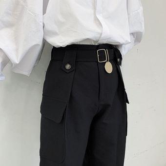 Ropa De Calle Japonesa Para Hombre Pantalon Informal Gotico Punk Pantalones Bombachos De Bolsillo Vintage Hip Hop Para Hombre Ropa De Escenario Pantalon Tipo Kimono Xyx Linio Peru Ge582fa0zijsvlpe