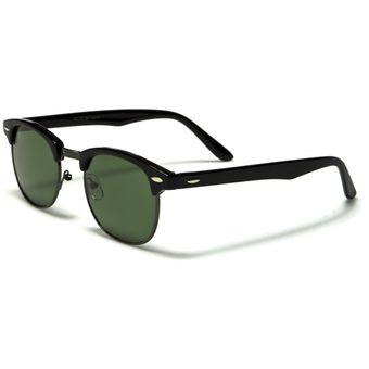 7185d160fc Gafas De Sol Filtro Uv 400 Lentes Estilo Clásico ClubMaster wf13glb_1 Negro