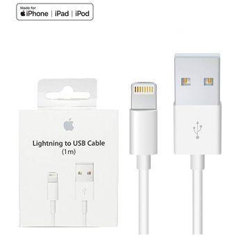 45a84b897ee Apple Lightning Cable USB Data 1 METRO IPhone 7/8/8Plus/X Original