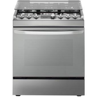 Agotado LG   Cocina A Gas Natural 6 Hornillas RSG314M   Acero