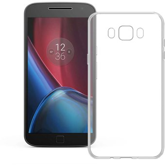 8f286b5cbfd Funda Para Motorola Moto G4/G4 Plus Silicon TPU - Transparente