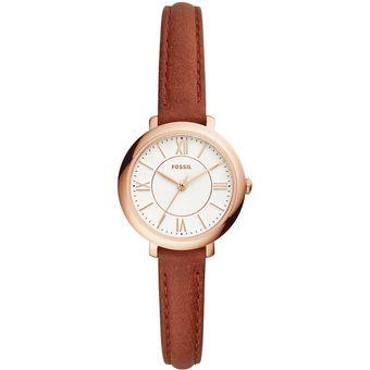 cf004bd2d5d6 Compra Reloj Fossil Jacqueline Es4412 para Mujer-Marrón online ...