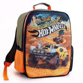 add2b96456 Compra Mochila De Espalda Hot Wheels Pista Tv Para Niños-Verde ...