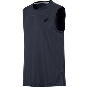 cabfc54cbbbb0 Polo Deportiva Asics Ministripe Sleeveless Top Para Hombre-Gris