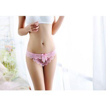 c3c2972387 Compra Moda Calzones Perspectivas Para Mujer Ropa Interior Lace-rosa ...