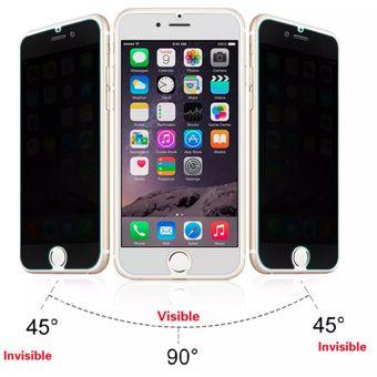 925185a9382 Compra Mica Cristal Templado Privacidad Iphone 6 6+ 7 7+ 8 8+ X ...