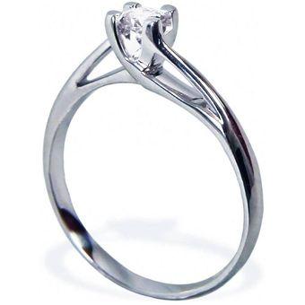 e8e356a56ee71 Anillo De Compromiso Solitario Diamond Desing Diamante Natural 15 Puntos  Con Montadura De Oro Blanco De ...