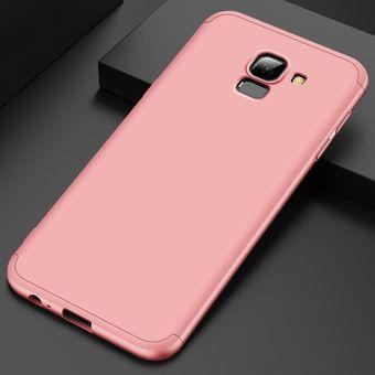 muy baratas venta caliente más nuevo linda Funda De 3-en-1 360 Para Samsung Galaxy J6 2018 / J600-Rosa
