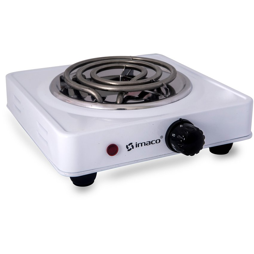Imaco Cocina Electrica De Mesa Hp1000 1 Hornilla Blanco Linio
