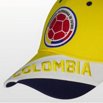 Agotado Gorra Selección Colombia de Fútbol FCF OFICIAL ref. FCFD04 color  amarillo 37d593b4afd