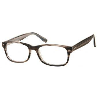 9b411eb325b9e Monturas Acetato Oftálmicas Para Lentes Opticos Formulados - Gafas Marco  Cuadradas - A156A - Gris