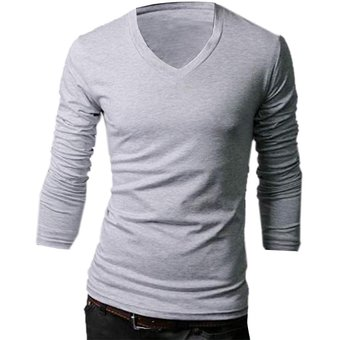 d632add74c5c4 Compra Camisetas Yucheer Hombres Gris Claro online
