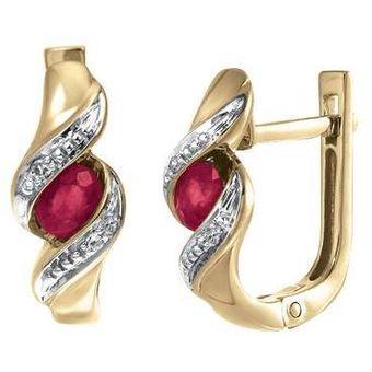 482f5cca3634 Compra Aretes Cristal Joyas Oro 14k online