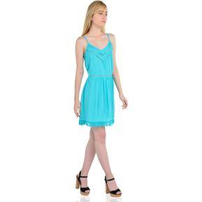 8e92aa6f00 Vestido de tiras de Mujer Aishop AF172-MD75184 Negro