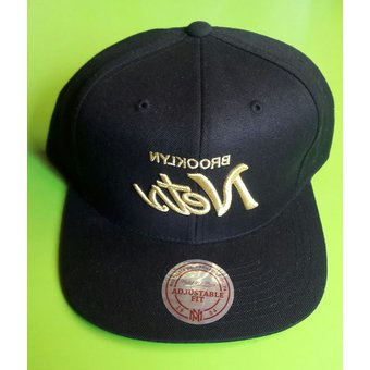 Compra Mitchell And Ness - Gorra Para Hombre NBA Brooklyn Nets ... 188be1040ac