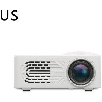 814 Inicio de mini proyector mini proyector portátil de entretenimiento en el hogar salida de aire compacto de teatro en casa 1080P