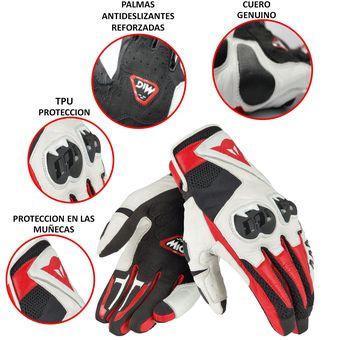181782a164f Compra Guantes Para Moto Dainese Mig C2 Negro Blanco online