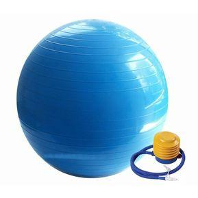 Pelota Yoga Y Pilates Terapéutica Con Inflador 60 CM - AZUL c67e67f97a82