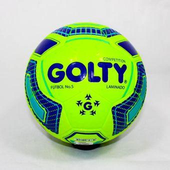 4b81df7455dd8 Compra Balon De Futbol Competition Laminado T656650 - Verde online ...
