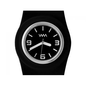 Twister De Negro Silicona Reloj Watchmania SpMVLqUGz